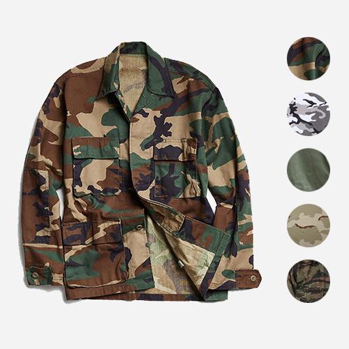 [국내배송][로스코]ROTHCO - BDU CAMO SHIRTS 5 COLORS BDU 카모셔츠 5컬러