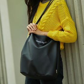 [로아드로아]ROIDESROIS - MUGUNGHWA SHOULDER BAG (BLACK) 가방 무궁화 숄더백