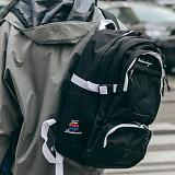 [태극기키링 증정][로아드로아]ROIDESROIS - OMG BACKPACK (BLACK) 가방 백팩 망사백팩 메쉬백팩