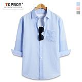 [탑보이] TOPBOY - 소울 피그먼트 7부셔츠 (DL493)