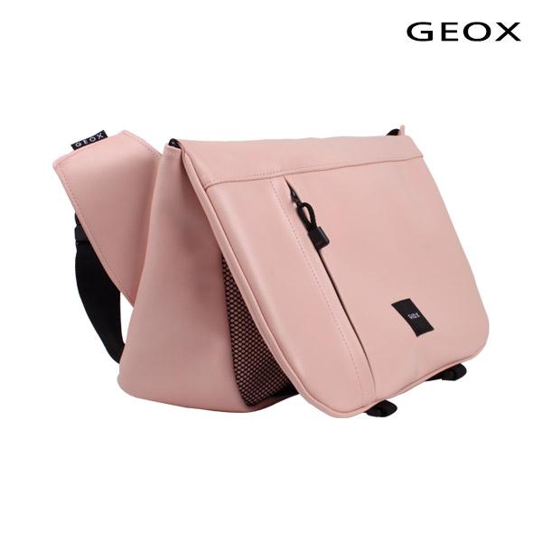 [제옥스]GEOX - MAKA LEAHTER MESSGERBAG PINK 마카 레더 메신저백 핑크