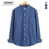 [탑보이] TOPBOY -쓰나미 데님 긴팔셔츠 (DO170)