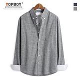 [탑보이] TOPBOY - 댄디 스크레치 긴팔셔츠(ZT119)