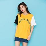 [모티브]MOTIVE - COLOR BLOCK SST YELLOW 반팔티 티셔츠
