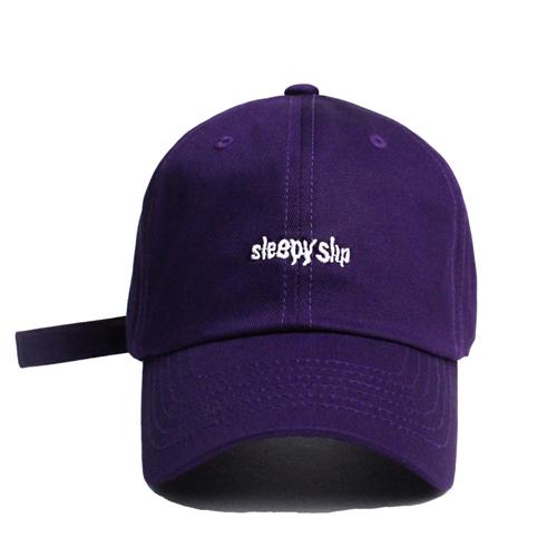 [슬리피슬립]SLEEPYSLIP - [unisex]#2 SIGNATURE PURPLE BALL CAP  볼캡 야구모자