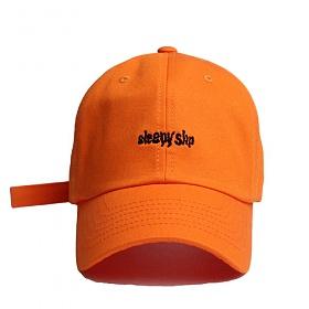 [슬리피슬립]SLEEPYSLIP - [unisex]#2 SIGNATURE ORANGE BALL CAP  볼캡 야구모자