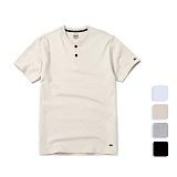 [언리미트]Unlimit - Henryneck Tee (U17BTTS25) 헨리넥 반팔티 반팔 티셔츠