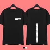 [superlative] 슈퍼레이티브 - [SST100] BACK LINE POINT 반팔 티셔츠 - 반팔 티셔츠 - 2컬러
