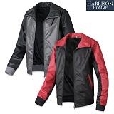 [해리슨] HARRSION 408 엠보 배색 바람막이 TO1015