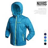 [뉴비스] NUVIIS - 남성 라인 컬러 경량 바람막이 자켓 (MR049JK)