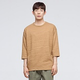 [모니즈] 더블 슬라브 7부 티셔츠 TSL553