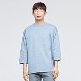 [모니즈] 베이직 오버 7부 티셔츠 (6color) TSL551