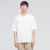 [모니즈] 브이 트임 7부 티셔츠 (3color) TSL542