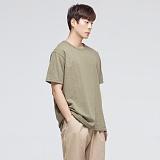 [모니즈] 베이직 라운드 반팔 티셔츠 (10color) TSB041