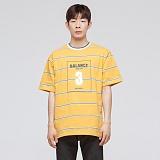 [모니즈] 발란스 요꼬 반팔 티셔츠 (4color) TSB031