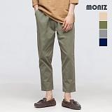 [모니즈] MONIZ - 피치 밴딩 면바지 PCT101