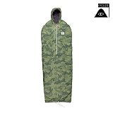 [폴러스터프]POLER STUFF - Shaggy Napsack (Green Furry Camo)