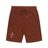 STIGMA - CRUZ MEDIUM SWEAT SHORT PANTS BROWN_반바지