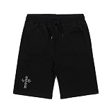 STIGMA - CRUZ MEDIUM SWEAT SHORT PANTS BLACK_반바지