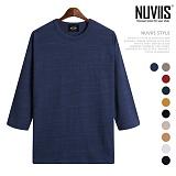 뉴비스 - 양슬랍 오버핏 7부티셔츠 (RW092TS)