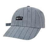 [Movito] MVT 로고 핀스트라이프 볼캡 야구모자_MOBC674-AG1_BL