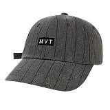 [Movito] MVT 로고 핀스트라이프 볼캡 야구모자_MOBC674-AG1_CH