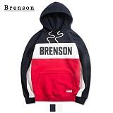 브렌슨 - BR205 라인배색 후드 2컬러