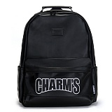 [참스]CHARMS - Basic Leather Backpack BLACK 레더 백팩 데이백팩