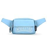 [참스]CHARMS - Basic Leather Hipsack BLUE 레더 웨이스트백 힙색