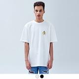 [어커버]ACOVER - CRAPAS LOGO CHARACTER T-SHIRTS 크레파스 로고 캐릭터 티셔츠
