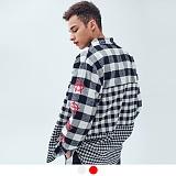 [어커버]ACOVER - TRIPLE STEP CHECK SHIRT 트리플 스탭 체크 셔츠