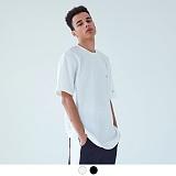 [어커버]ACOVER - TWO PATCH T-SHIRT 투패치 티셔츠