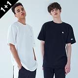 [어커버]ACOVER - [1+1] TWO PATCH T-SHIRT 투패치 티셔츠