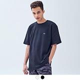 [어커버]ACOVER - LOGO POINT T-SHIRT 로고 포인트 티셔츠