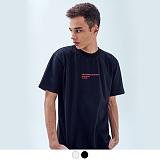 [어커버]ACOVER - HOLIDAY HALF T-SHIRT 홀리데이 하프 티셔츠