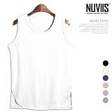 [뉴비스] NUVIIS - 이지 심플 컬러 나시 티셔츠 (RW097SL)