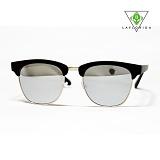 [라플로리다] laflorida - 뉴져지 실버 미러렌즈 블랙 선글라스