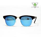 [라플로리다] laflorida - 뉴져지 블루 미러렌즈 블랙 선글라스