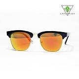[라플로리다] laflorida - 뉴져지 골드미러렌즈 블랙 선글라스