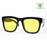 [라플로리다] laflorida - 마이애미 옐로 틴트렌즈 블랙 선글라스