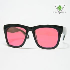 [라플로리다] laflorida - 마이애미 와인 틴트렌즈 블랙 선글라스