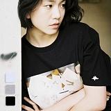 [언리미트]Unlimit - DW TEE (U17BTTS29) 반팔티 반팔 티셔츠