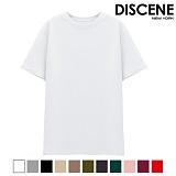 디씬 - 무지 반팔 티셔츠 - 15COLOR