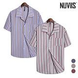 [뉴비스] NUVIIS - 시어커서 오버핏 반팔셔츠 (RG035SH)