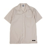 앱놀머씽 - Tender Open Collor Shirts (Beige) 오픈카라셔츠