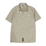 [앱놀머씽] Work Shirt (Beige) 워크셔츠