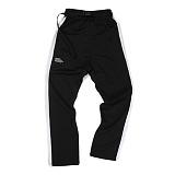 [앱놀머씽] Belted Track Pants (Black/White) 트랙팬츠