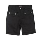 [앱놀머씽] P44 Half Pants (Black) 반바지