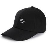 [앱놀머씽] Weekend Ball Cap (Black) 볼캡 야구모자