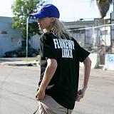 [FLUKE] 플루크 - 17 S/S Standard M.J logo 반팔 티셔츠 FST017C111BK